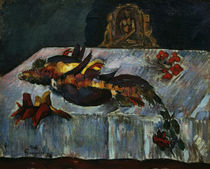 P.Gauguin, Stilleben mit exot.Voegeln von AKG  Images