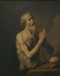 J.de Ribera, Hl.Onuphrius by AKG  Images