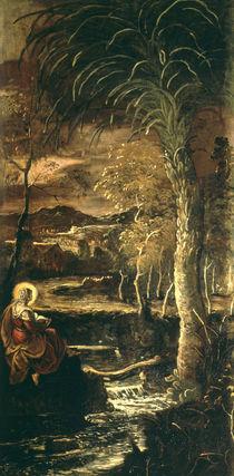 Tintoretto, Maria Aegyptiaca von AKG  Images