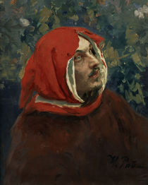 Dante Alighieri/ Gemaelde von Repin by AKG  Images
