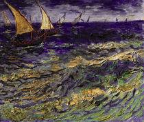 Van Gogh/Fischerboote bei Saintes Maries von AKG  Images