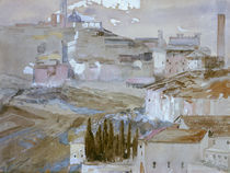 Max Klinger, Siena von San Domenico/1889 von AKG  Images