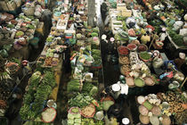 The authentic Market of Dalat in Vietnam