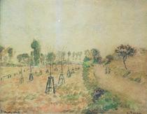 Camille Pissarro, Der Feldweg by AKG  Images