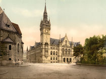Braunschweig, Neues Rathaus / Photochrom by AKG  Images