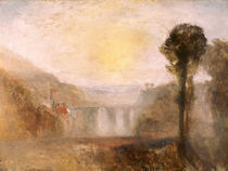 W.Turner, Bruecke und Turm by AKG  Images