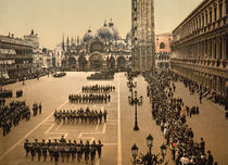 Venedig, S.Marco, Parade / Photochrom by AKG  Images