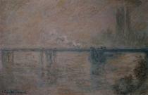 C.Monet, Charing Cross Bridge by AKG  Images
