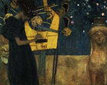 G.Klimt, Die Musik / 1895 von AKG  Images