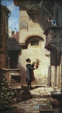 Spitzweg, Carl/Der Gratulant/um 1855-56 von AKG  Images