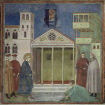 Giotto, Mann huldigt Franziskus by AKG  Images
