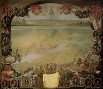 Span. frz.Krieg,Valenciennes1656/Teniers von AKG  Images