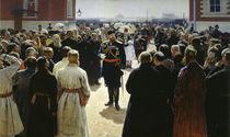 Alexander III. empfaengt.. / Gem.v.Repin by AKG  Images