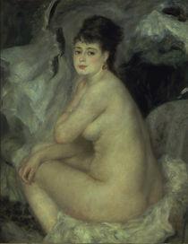 Renoir/ Weiblicher Akt/ 1876 von AKG  Images
