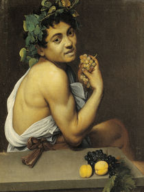 Caravaggio, Der kranke Bacchus by AKG  Images