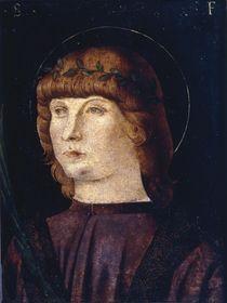 Giov.Bellini Umkreis, Jugendl.Heiliger von AKG  Images