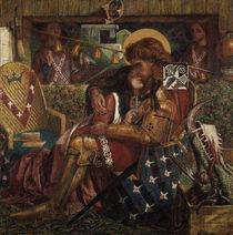 Dante G. Rossetti/Hl.Georg & Sabra/1857 von AKG  Images