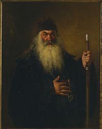 Repin, Protodiakon / 1877 von AKG  Images