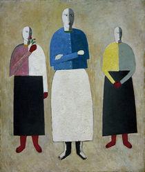 K.Malewitsch, Drei Maedchen by AKG  Images