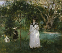 B.Morisot, Die Schmetterlingsjagd by AKG  Images