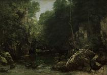 G.Courbet, Bach von Puits noir von AKG  Images