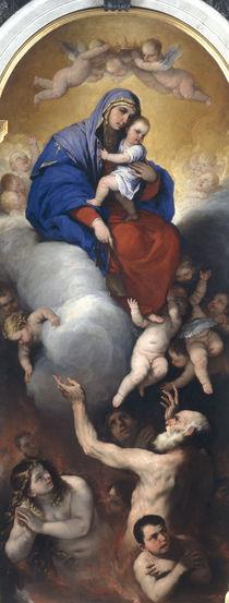 Luca Giordano, Maria und Fegefeuer von AKG  Images
