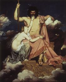 J.A.D.Ingres, Jupiter und Thetis von AKG  Images