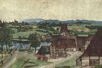 Albrecht Duerer, Drahtziehermuehle / 1494 von AKG  Images