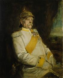Bismarck / Portrait Franz Lenbach von AKG  Images