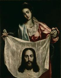 El Greco/ Hl.Veronika by AKG  Images
