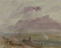 Thun, Stadt und See / Aquarell v.Turner by AKG  Images