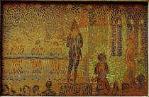 G.Seurat, Studie zu Zirkusparade by AKG  Images