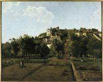 Pissarro,C./Dorf Melleraye/ 1876 von AKG  Images