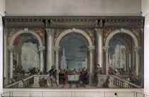 Veronese, Gastmahl im Hause Levis von AKG  Images