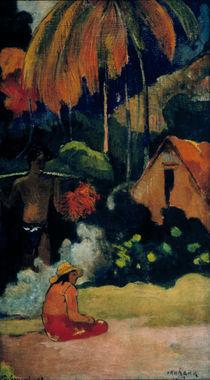 P.Gauguin/ Mahana maa II(Tag d.Wahrheit) by AKG  Images