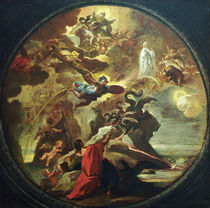 L.Giordano,  Johannes auf Patmos von AKG  Images