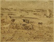 V.v.Gogh, Ernte in der Provence, by AKG  Images