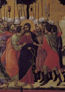 Duccio, Christi Gefangennahme, Ausschn. by AKG  Images