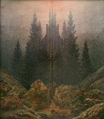 C.D.Friedrich, Das Kreuz im Gebirge von AKG  Images