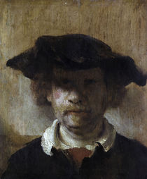 Rembrandt, Selbstbildnis (Leipzig) von AKG  Images