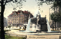 Muenchen, Nornenbrunnen / Photochrom 1910 by AKG  Images