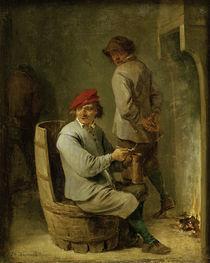 David Teniers d.J., Raucher auf einem .. by AKG  Images
