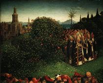 Maertyrer / Jan v.Eyck, Genter Altar 1432 von AKG  Images