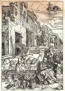 A.Duerer, Heilige Familie im Hof von AKG  Images