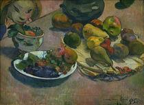 P.Gauguin, Stilleben mit Fruechten von AKG  Images
