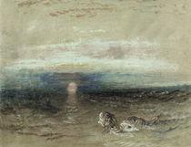 W.Turner, Sonnenuntergang ueber dem Meer von AKG  Images