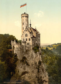 Schloss Lichtenstein bei Honau/Photochrom by AKG  Images