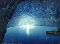 Capri, Blaue Grotte / Photochrom by AKG  Images