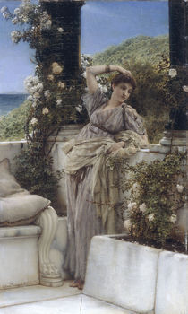 L.Alma Tadema, Du Rose unter (..) Rosen von AKG  Images