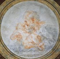 G.L.Bernini, Joseph mit Jesusknabe by AKG  Images